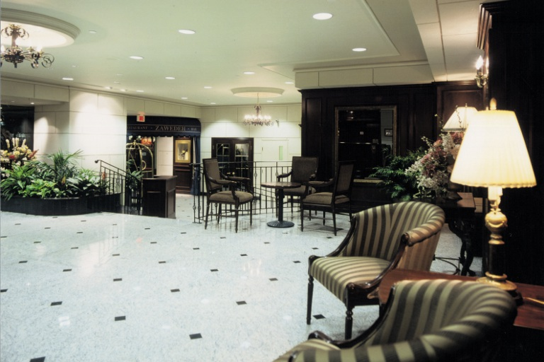 Downtown Montreal Hotel Lobby Best Western Ville Marie